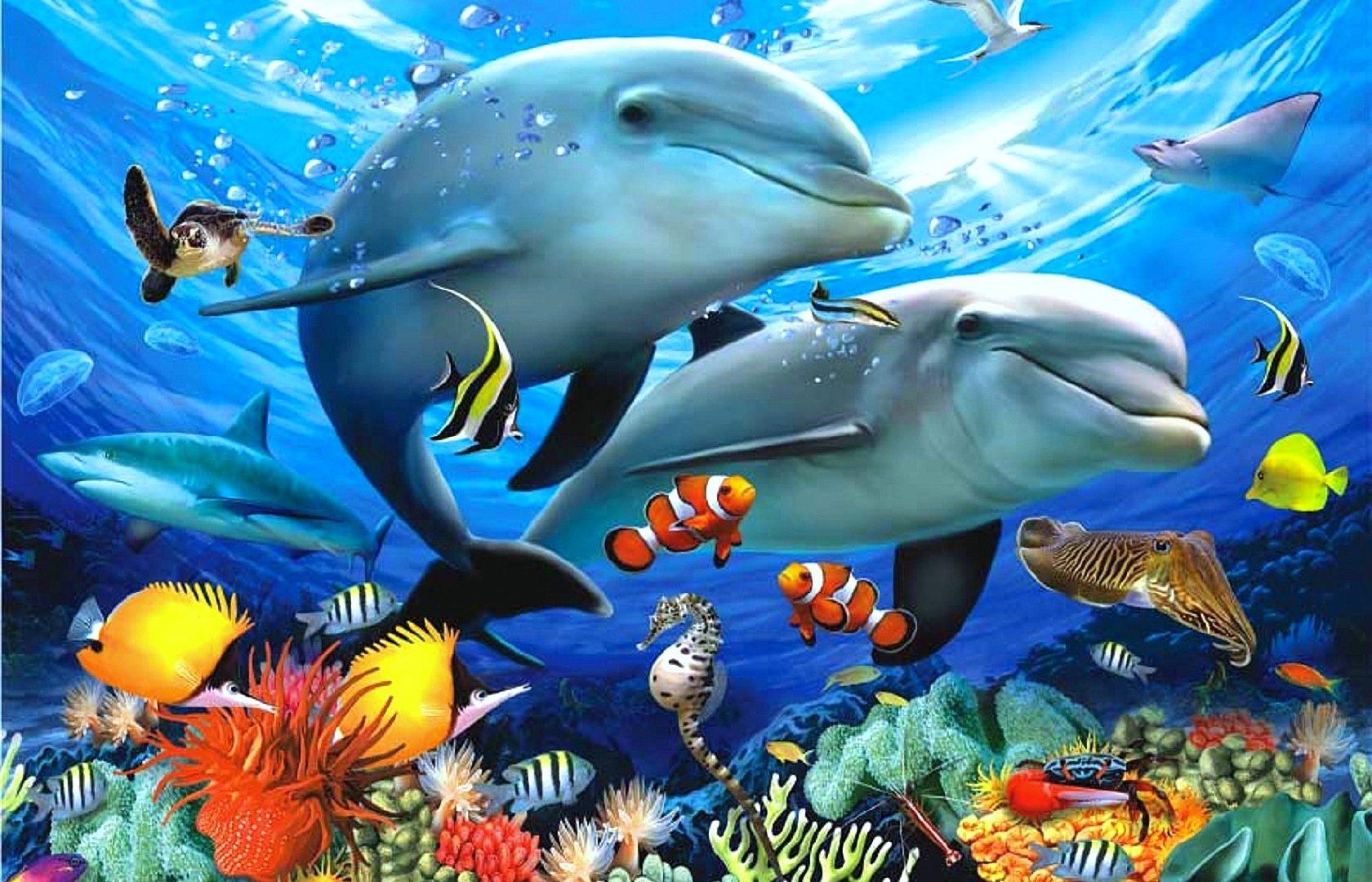Underwater Ocean Paintings