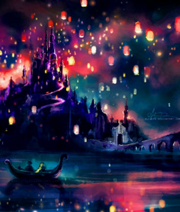 Tangled Lantern paintings
