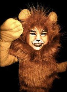 6925c7c58 Lion Makeup Face Paint