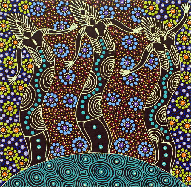 Aboriginal Dreamtime Paintings