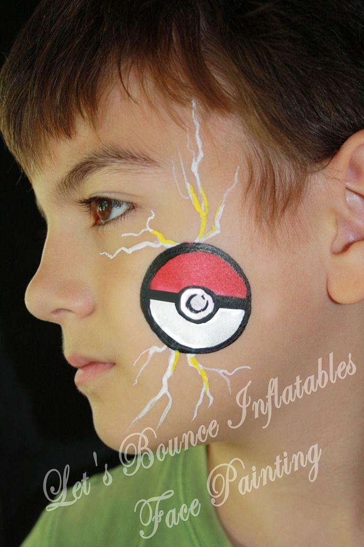 Boys Face Paintings