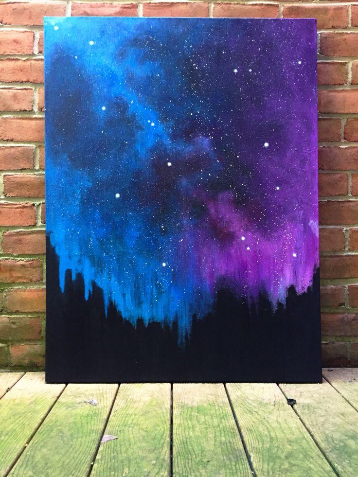 Easy Galaxy Paintings