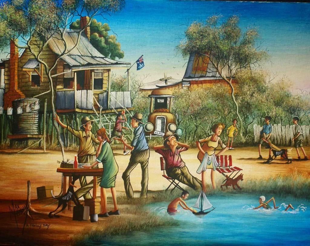 Australian Bush Paintings