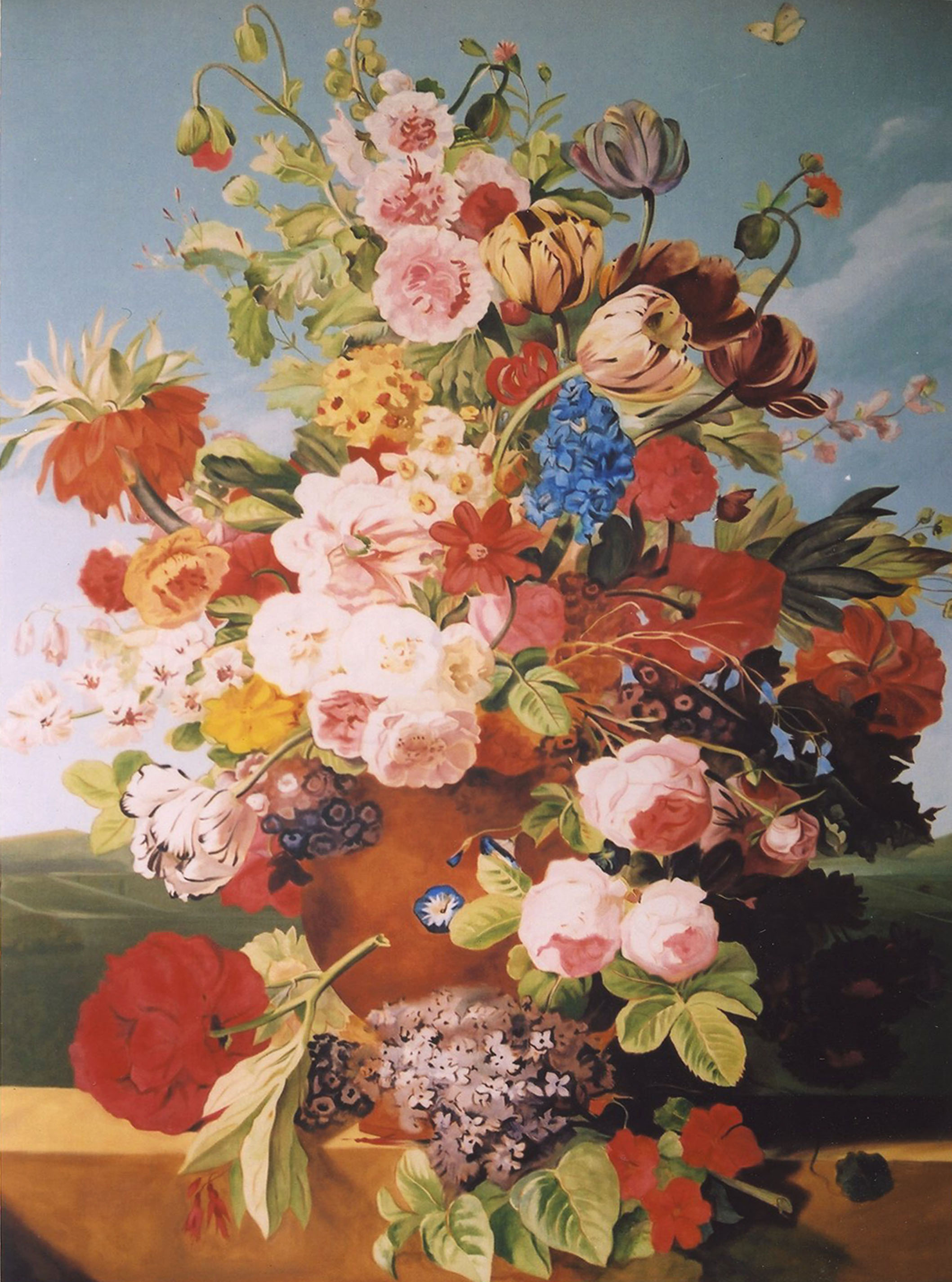 Renaissance Flower Paintings