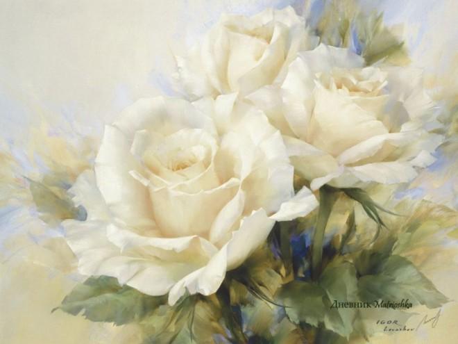 White flowers paintings beautiful white flower painting image mightylinksfo