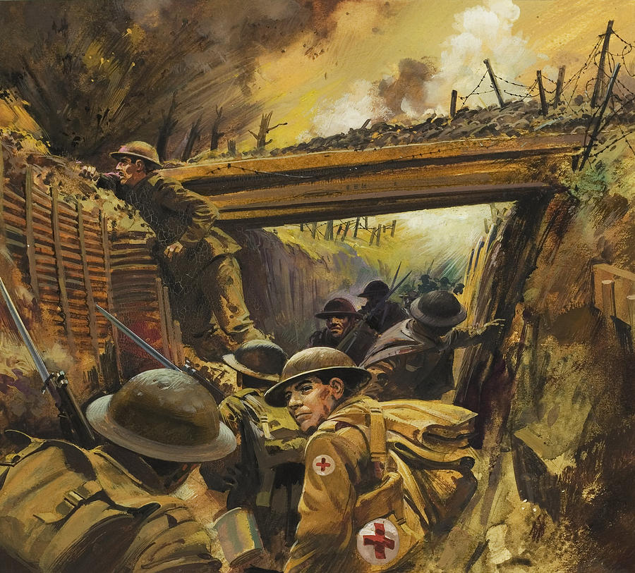 Famous Ww1 Paintings