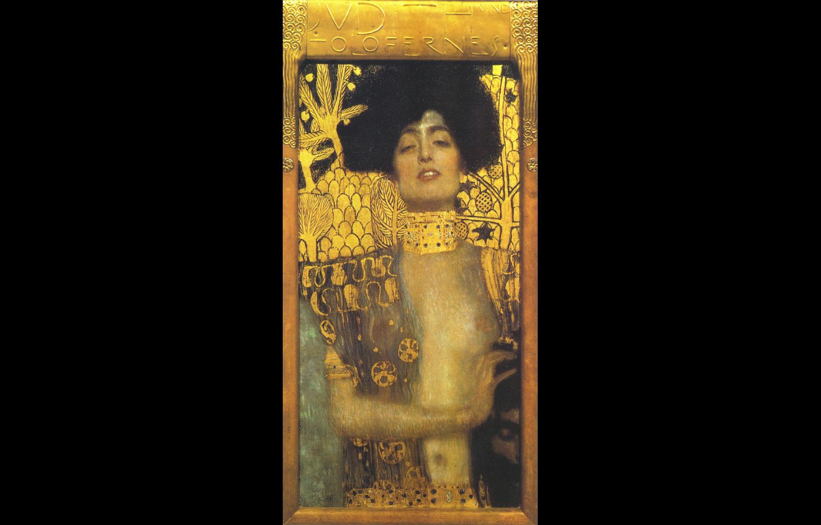 Judith Klimt paintings