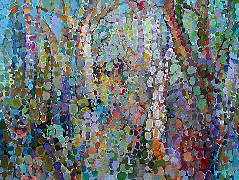 Forest Abstract Paintings