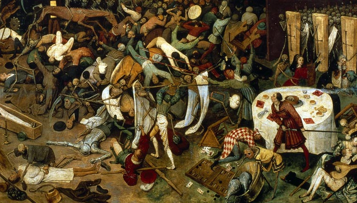black death paintings