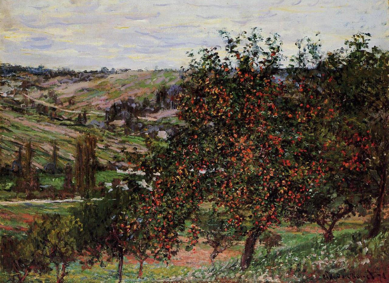 Apple Tree paintings