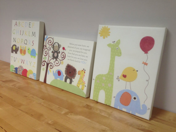 Baby Canvas Paintings