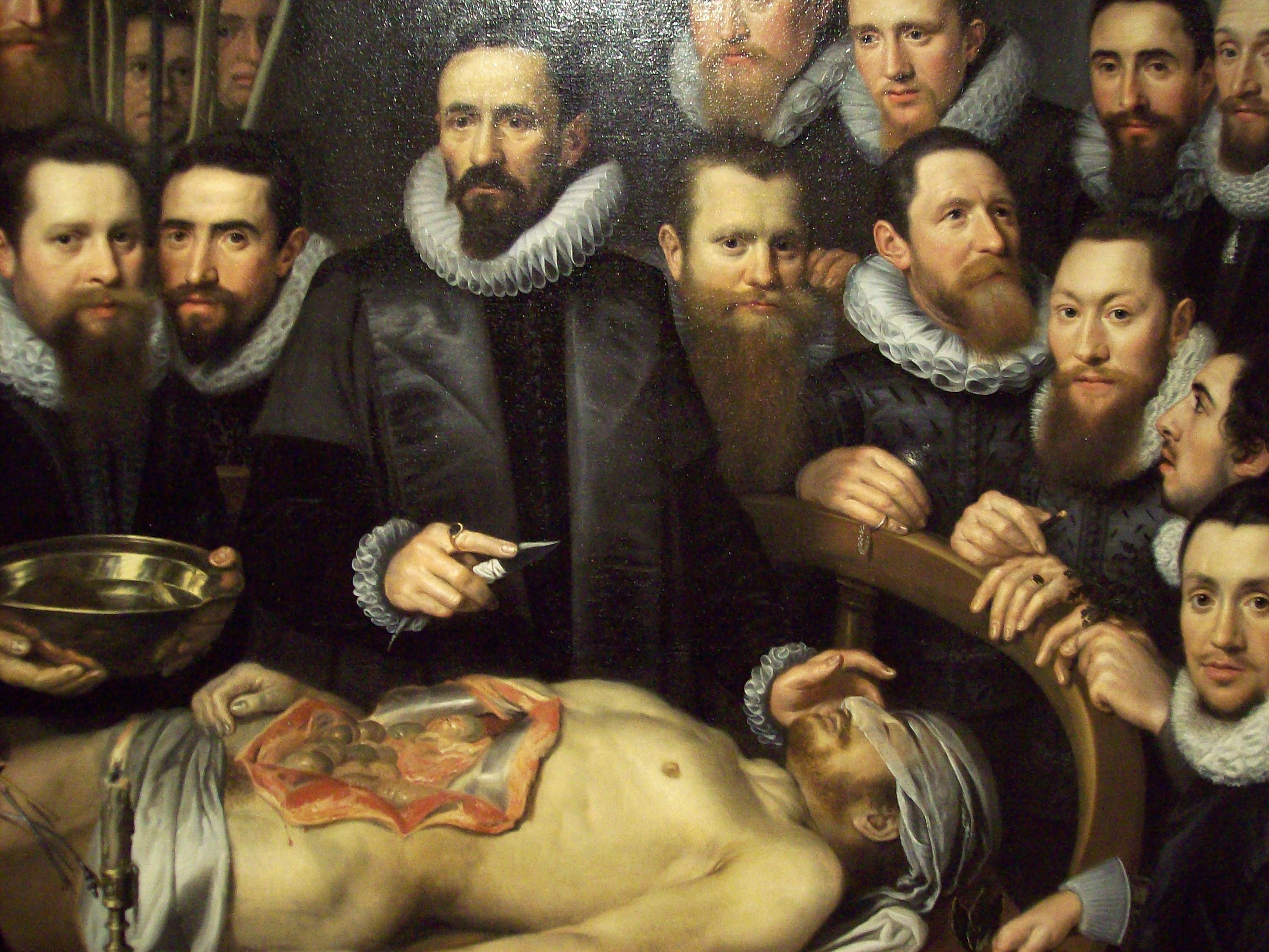 Enchanting The Anatomy Lesson Motif - Human Anatomy Images ...