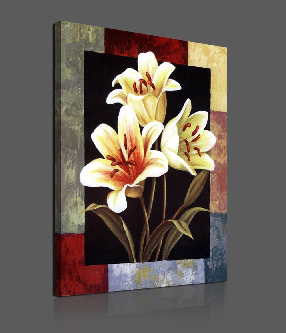 Flowers Canvas Paintings