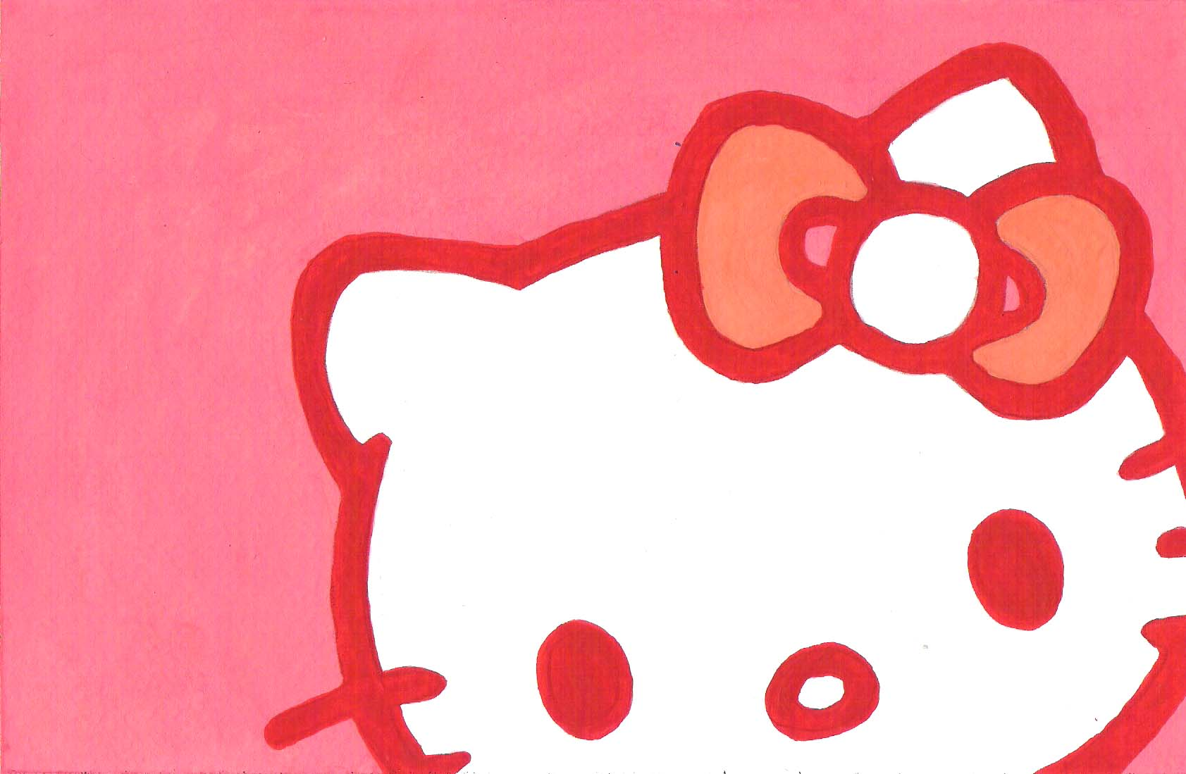 Hello Kitty Paintings