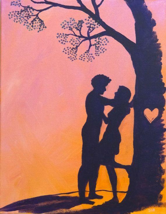 Romantic Couple Paintings
