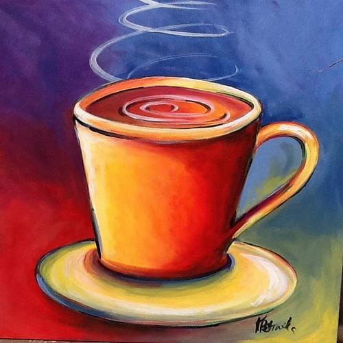 Coffee Cup Paintings