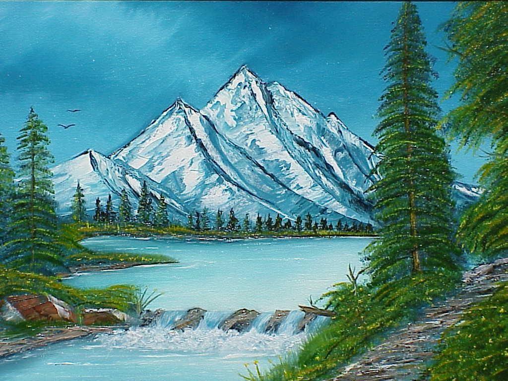Beautiful Landscape Paintings Simple  20 the third bonus dvd is ...