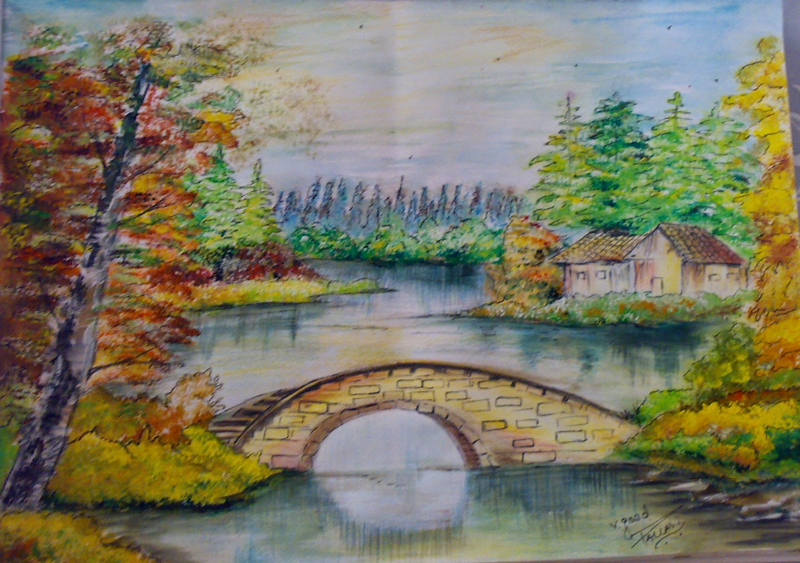 Nature Drawing Paintings