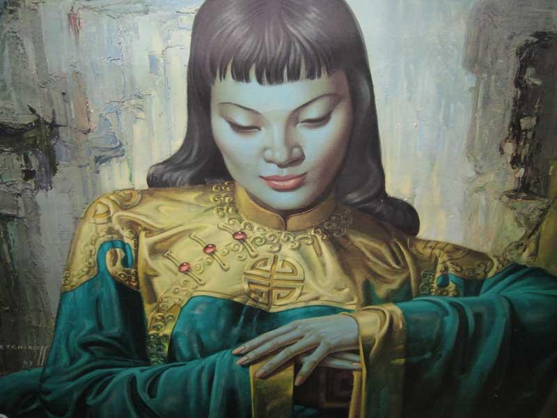 Vladimir Tretchikoff paintings
