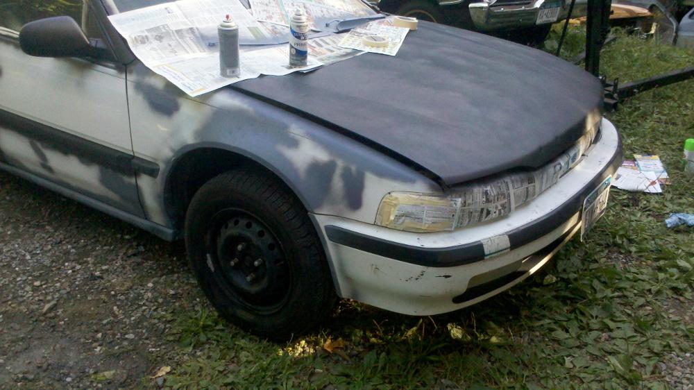 do it yourself auto paint job