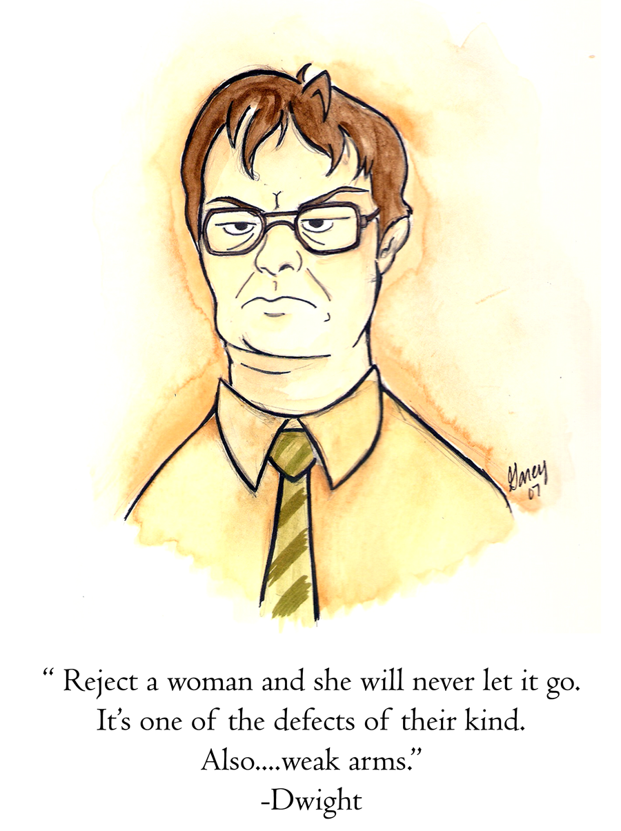 Dwight Schrute Paintings