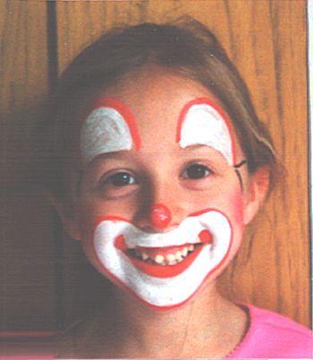 Clown Face Paint Ideas Face Paint Ideas
