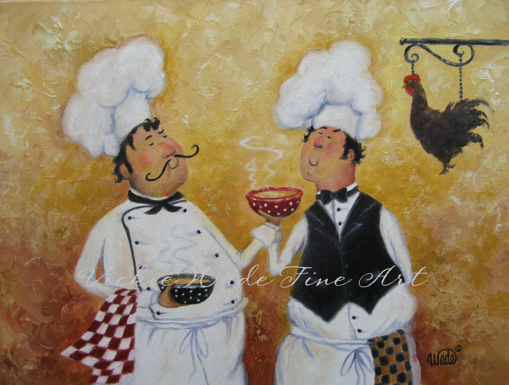 Chef Paintings
