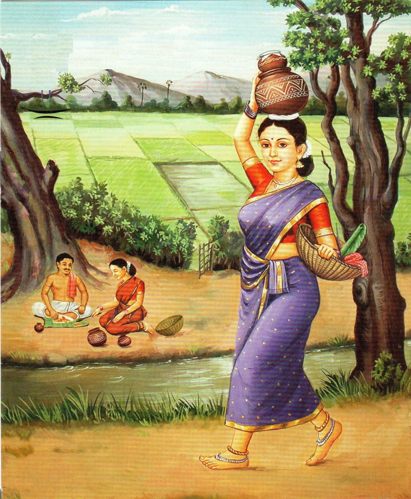 Art From India Indian Culture: Indian Culture Paintings