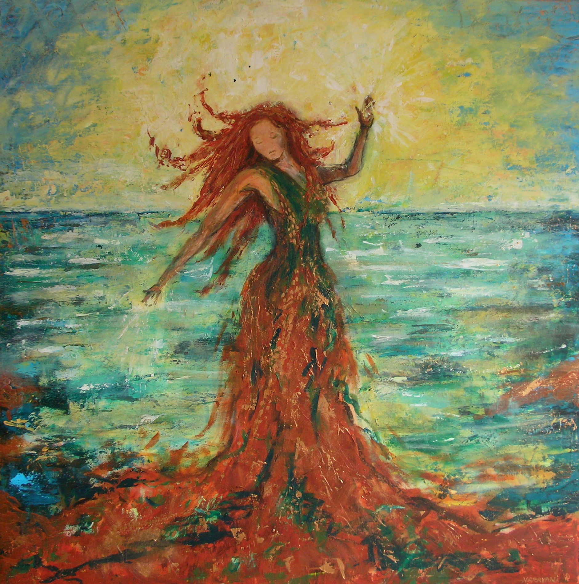 aphrodite goddess painting - HD1882×1896