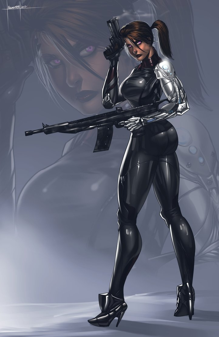 ac4d5c7a4 femme fatale by megaween on Deviant