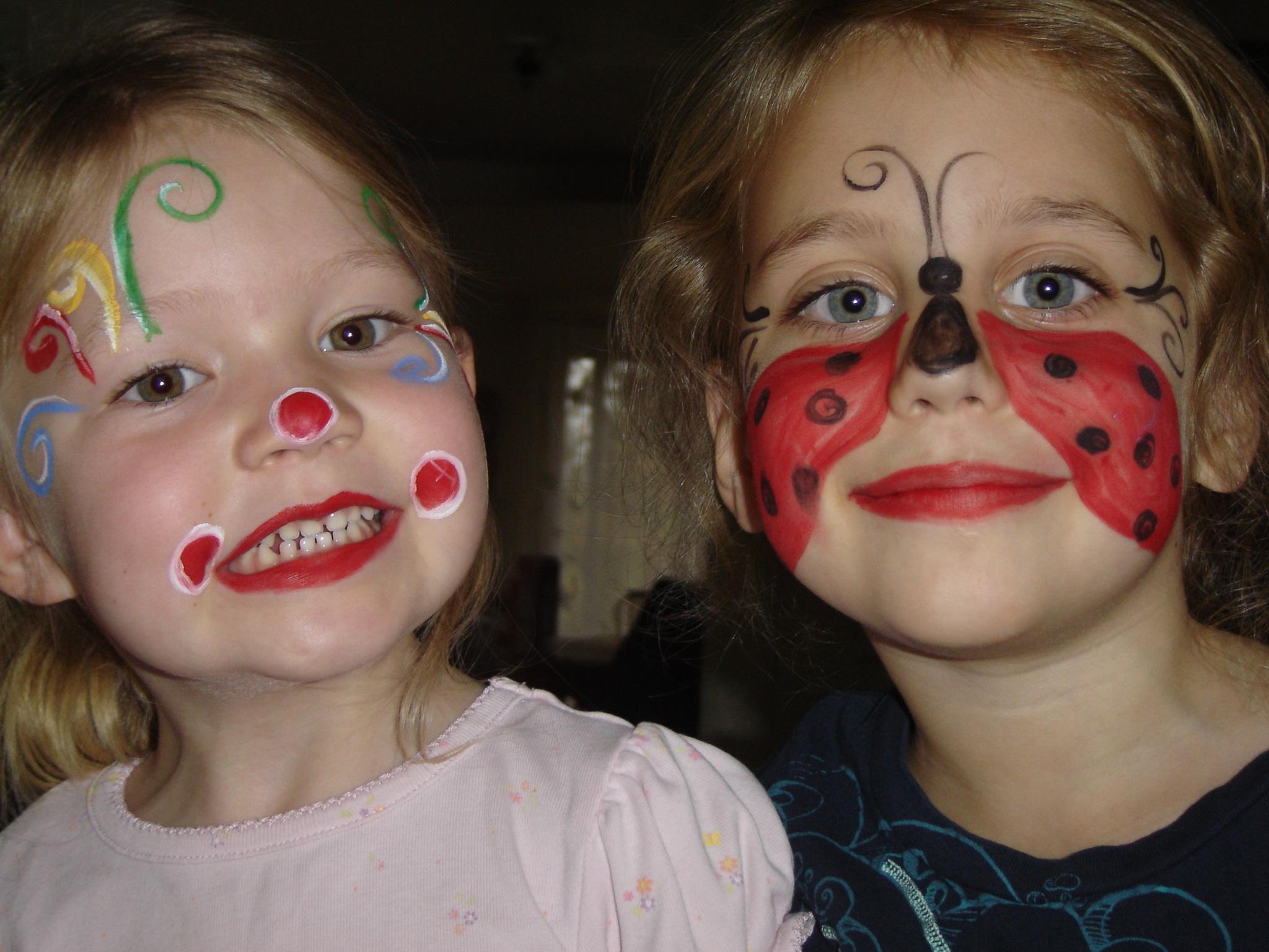 Face Makeup For Ladybug Costumes Saubhaya Makeup