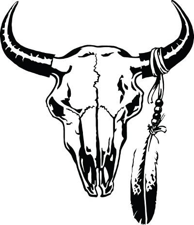 Bull Skull Paintings