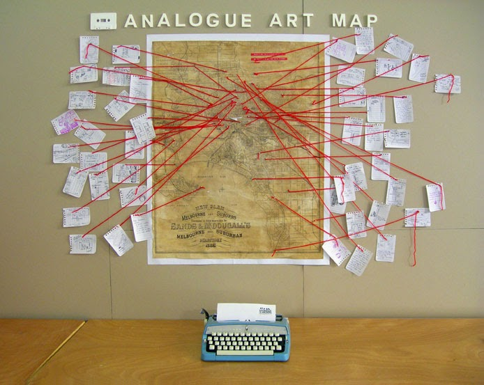 Map Paintings