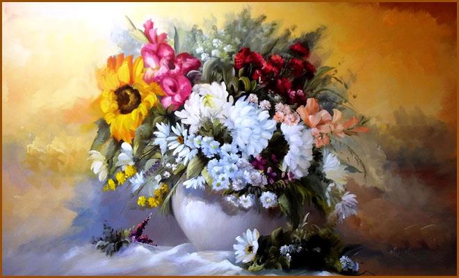 Pretty flower paintings 20 beautiful bouquet and flower oil paintings by szechenyi szidonia mightylinksfo