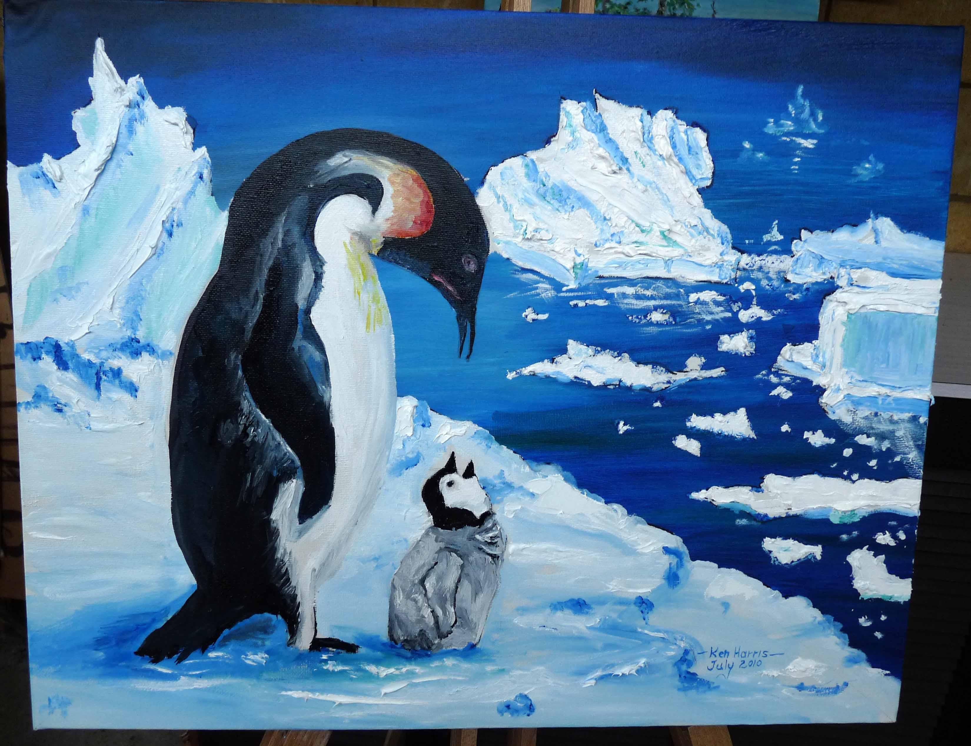 моду пингвины на картинах художников упускают возможности украсить
