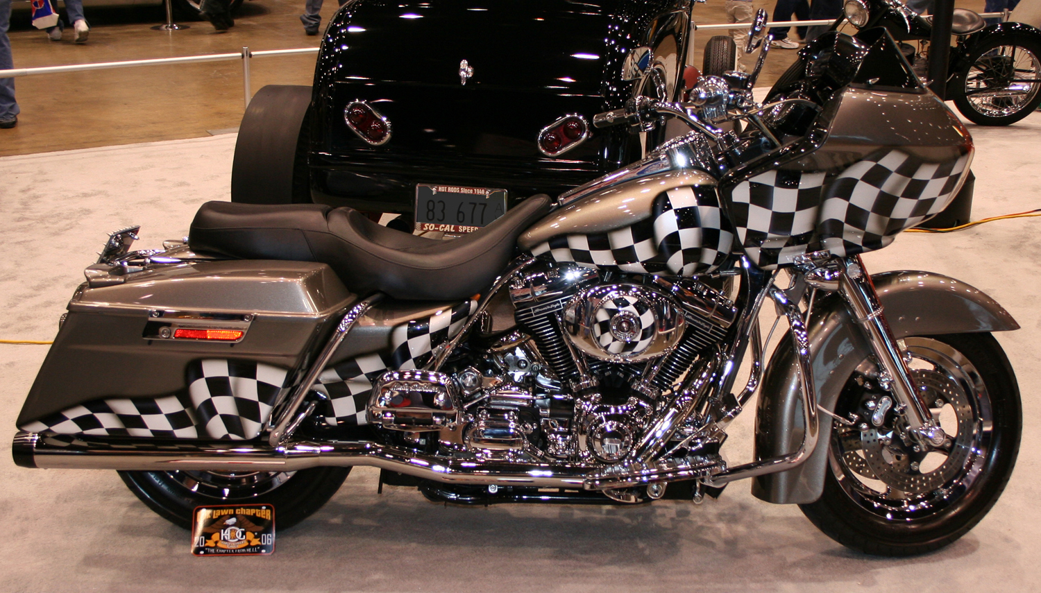 custom motorcycle paintings
