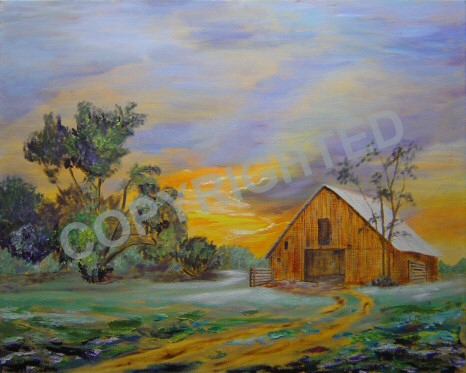 Famous Barn Paintings