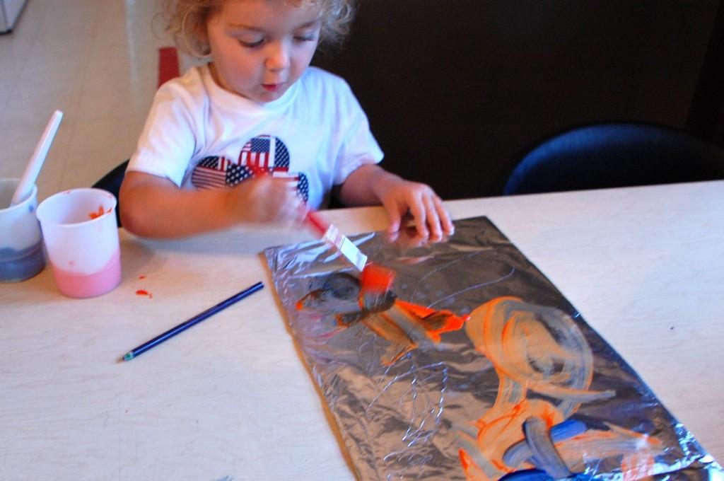 Foil Paintings