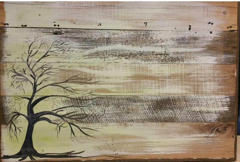 Barn Wood Paintings