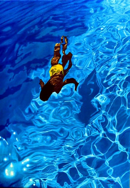 Swimming Pool paintings