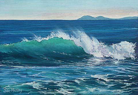 Ocean Waves Paintings