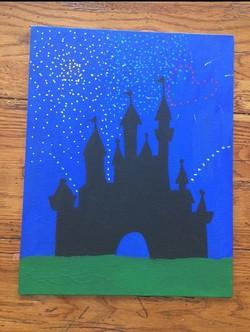 Disney Canvas Painting Draw Diy Easy
