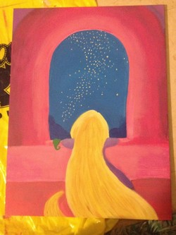 Cool Easy Paintings 40 Of Disney Painting Ideas Hobby