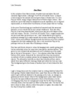 Art definition essay