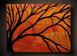 Trees Diy Easy Painting On Canvas Tree Paintings