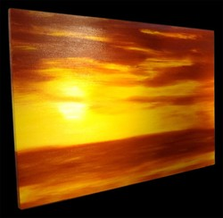 Easy Sunset Paintings