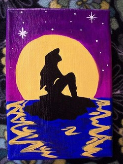 Easy Disney Paintings