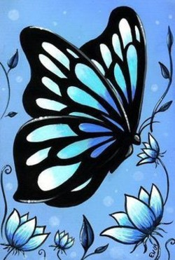 Ideas About Butterfly Painting On Pinterest Paintings