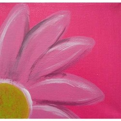 Easy Flower Acrylic Paintings