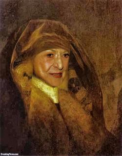Bea Arthur paintings